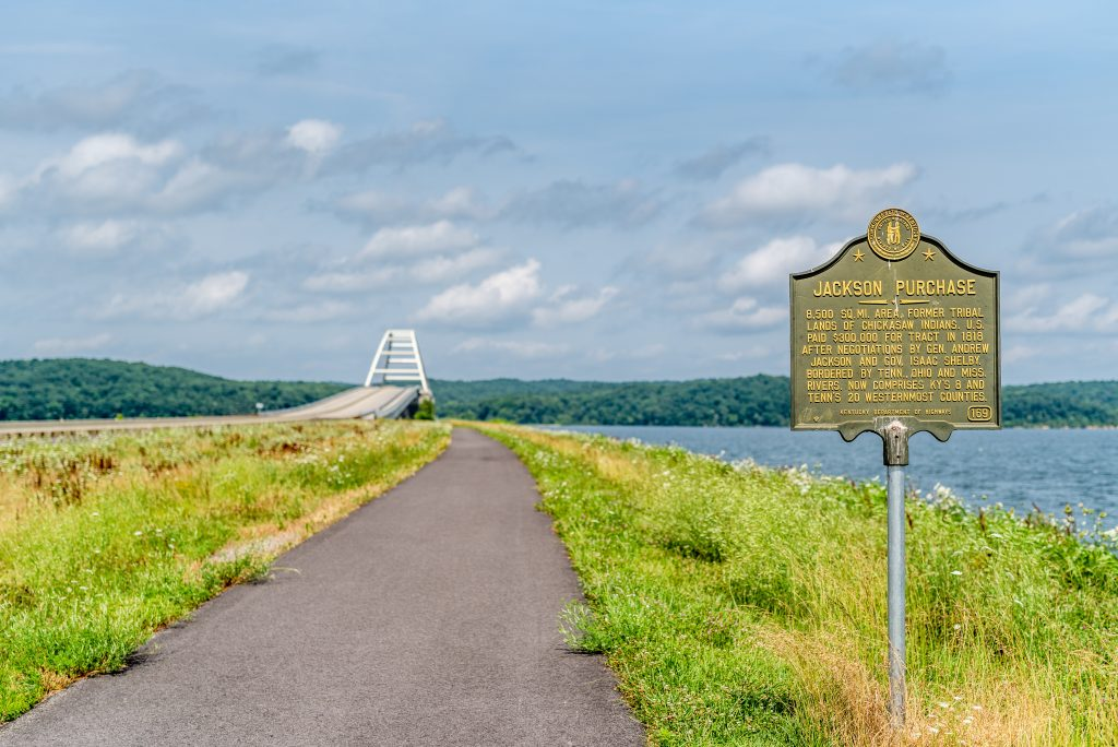 Eggner's Ferry Bridge Across KY Lake