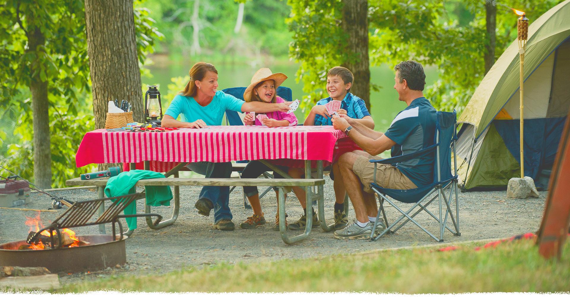Kentucky Lake Camping